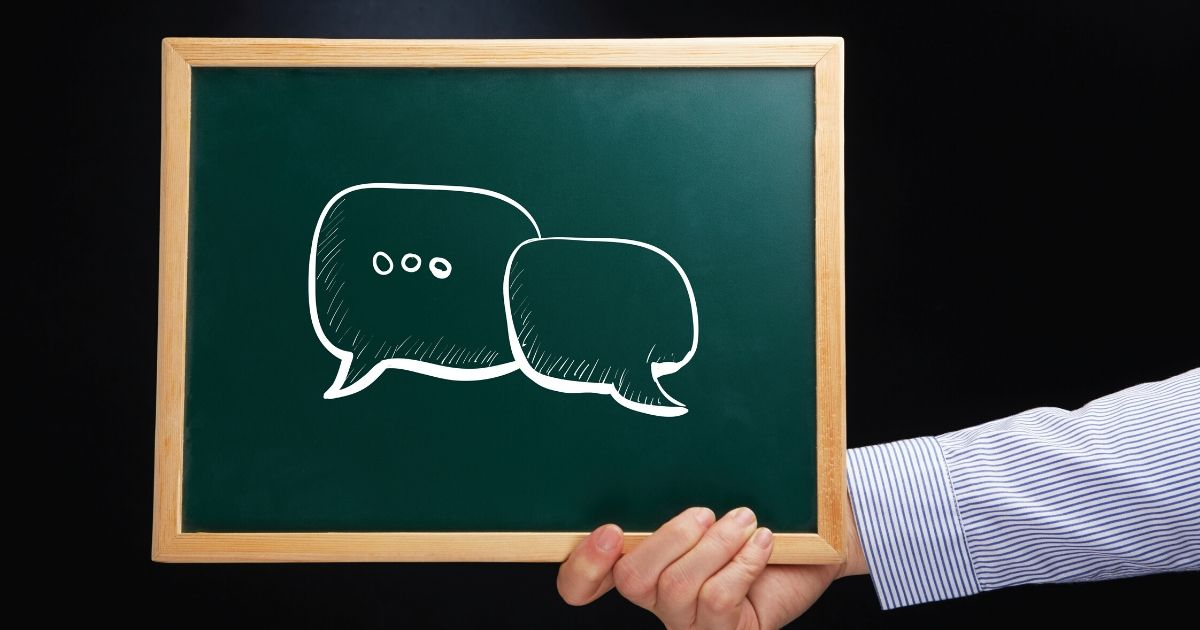 夫婦の会話