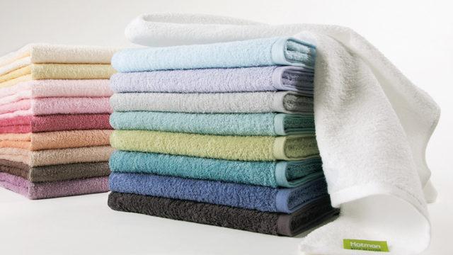 きれいに畳んだタオル