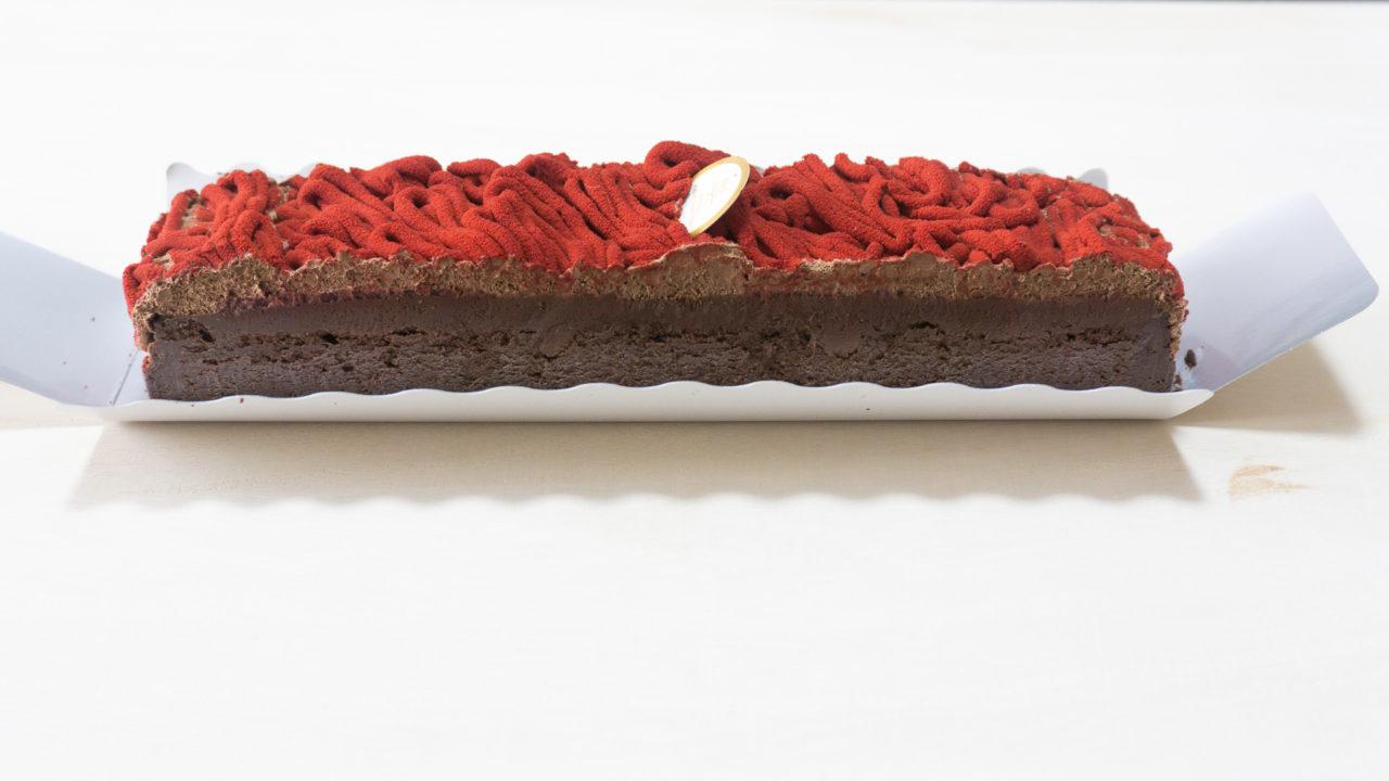 チョコレートケーキ<フランボワーズ>③