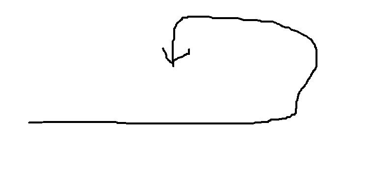 新幹線の移動のイメージ図