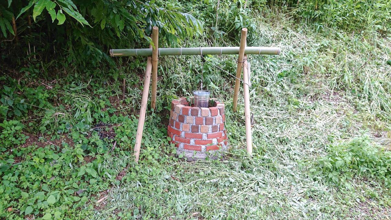 どこにもない家の井戸